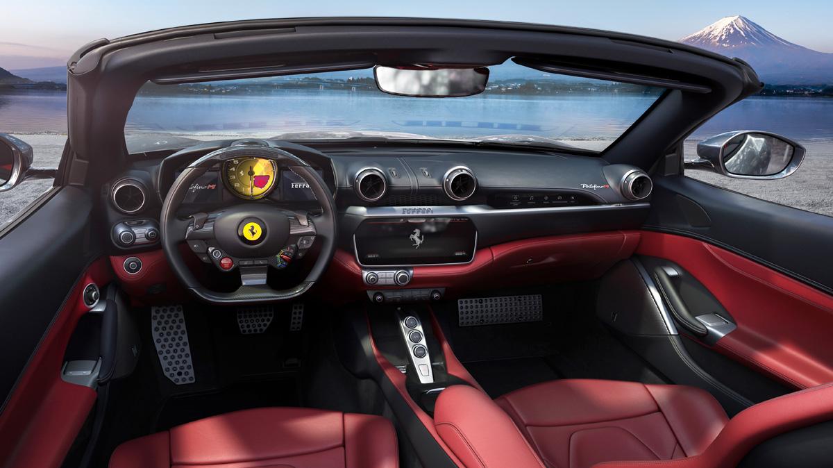 Представлен купе-кабриолет Ferrari Portofino M