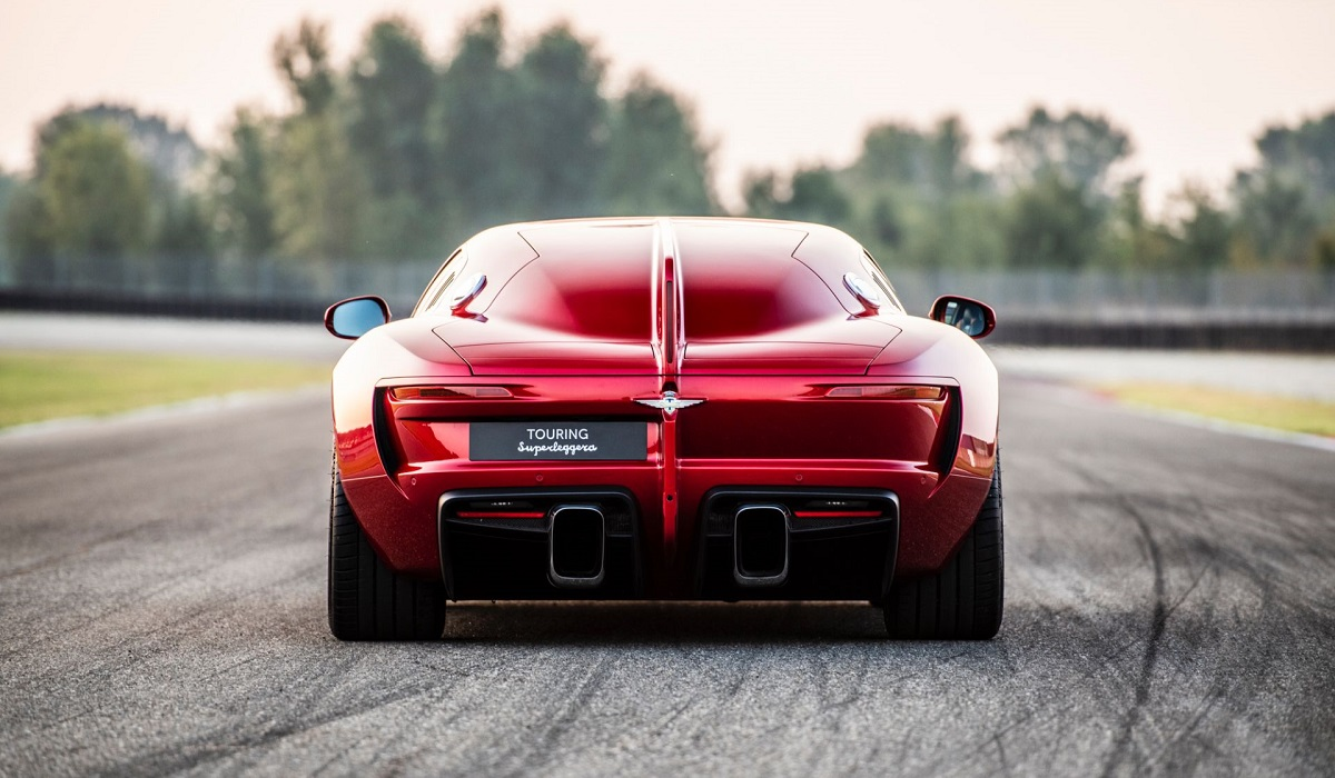 Суперкар Touring Superleggera Aero 3: ретродизайн и V12