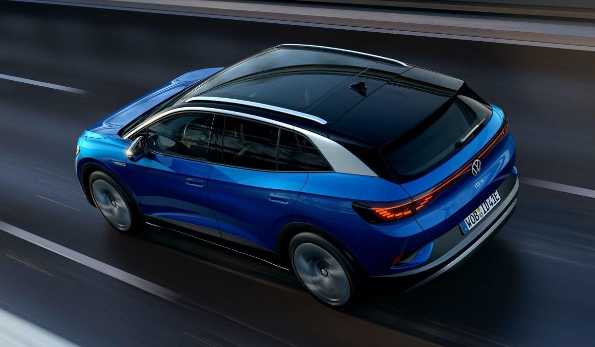 Volkswagen ID.4 стал первым кроссовером в электрической линейке бренда