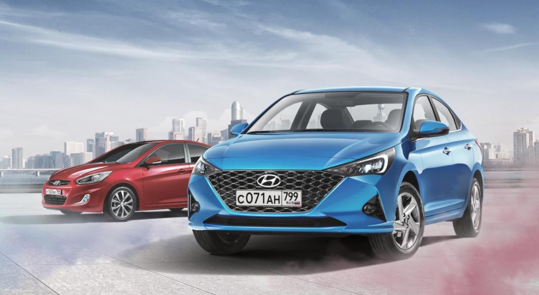 Hyundai Solaris обзавелся юбилейной лимитированной спецверсией