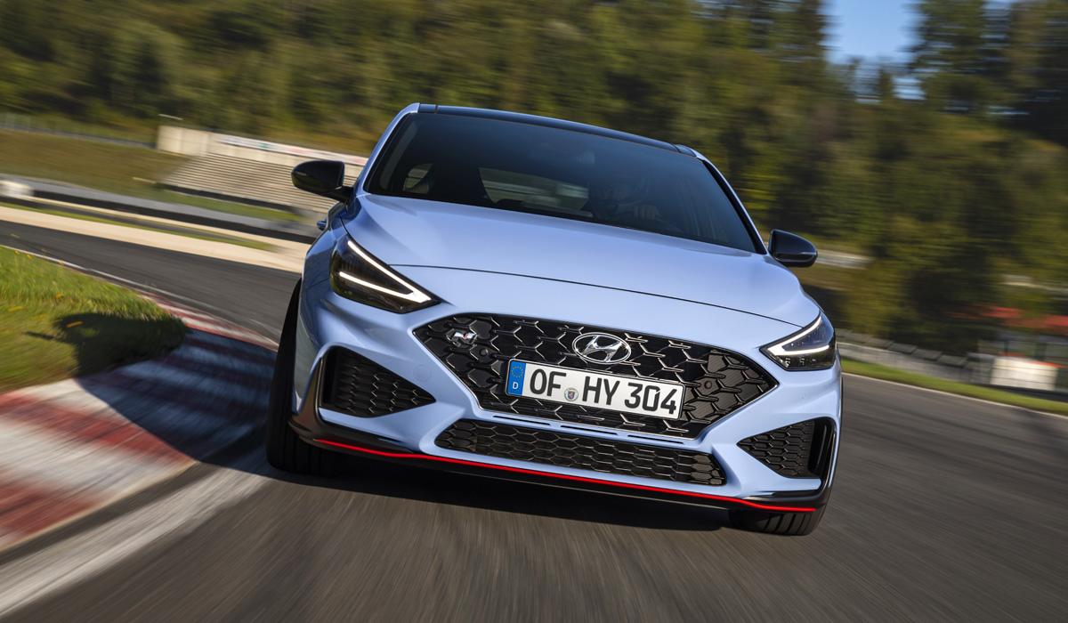 Обновленный Hyundai i30 N: увеличенная отдача и «робот»