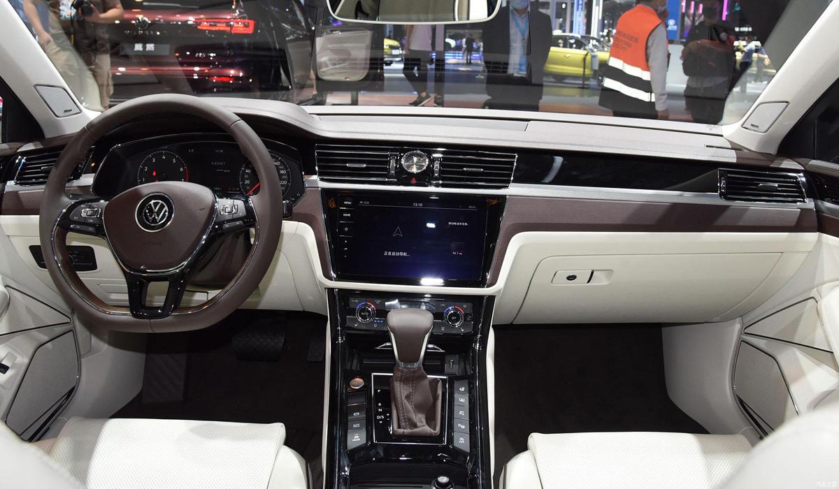 Обновлен флагманский седан Volkswagen Phideon