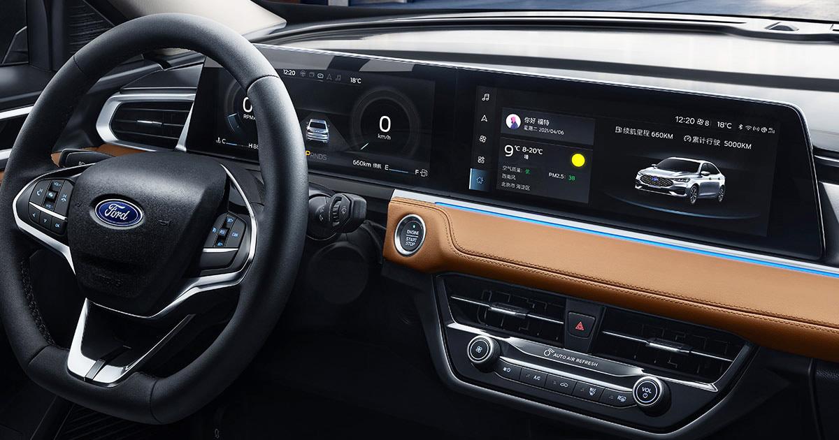 Седан Ford Escort обновлен во второй раз