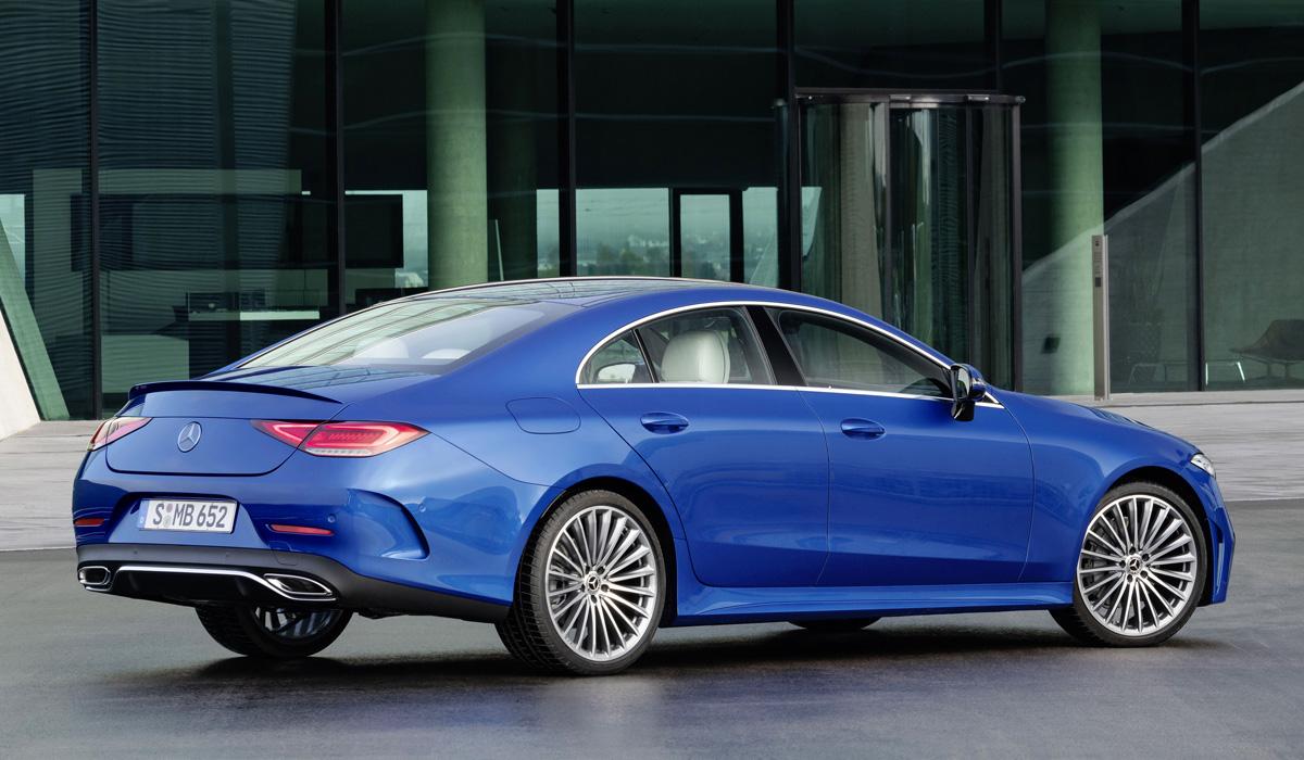 Седан Mercedes-Benz CLS и второй этап модернизации