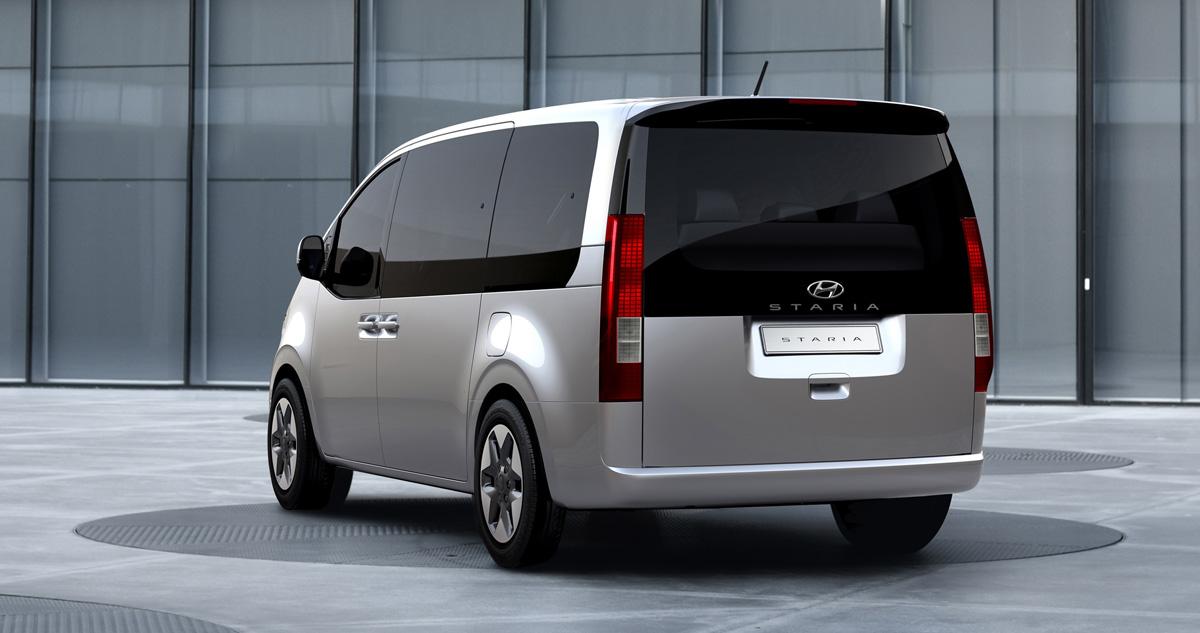 Новый минивэн Hyundai Staria: рассекречены все версии
