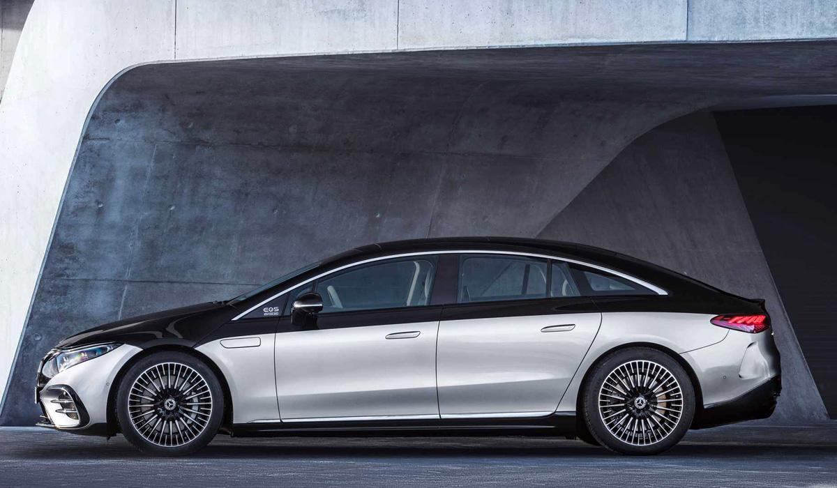 Электрический флагман Mercedes-Benz EQS: все подробности