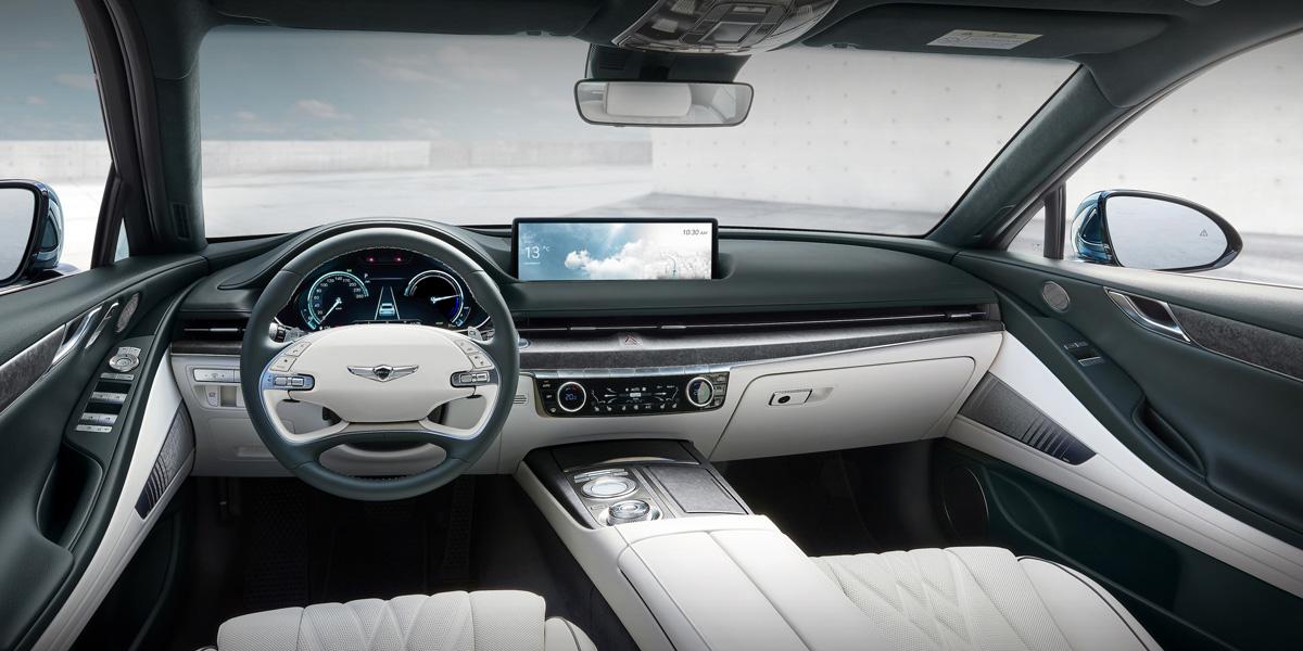 Седан Genesis Electrified G80: первый электромобиль марки