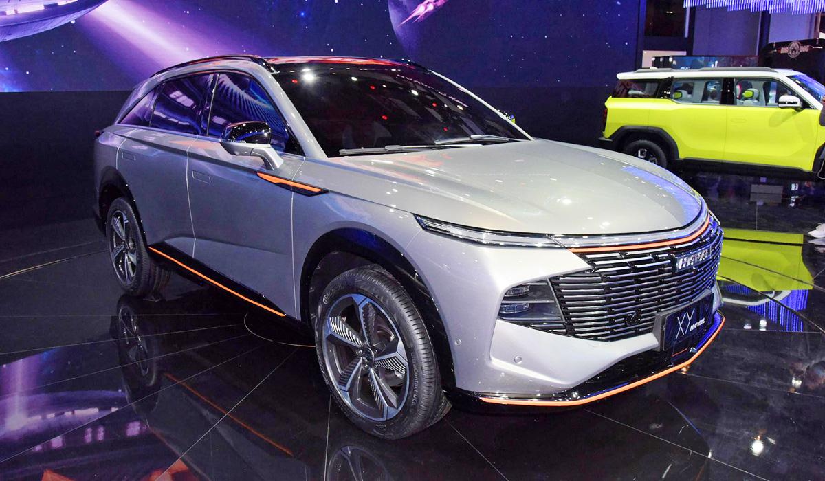X-Dog, XY и другие новинки компании Haval на автосалоне в Шанхае