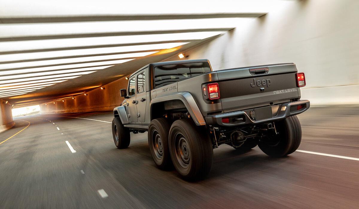 Ателье Next Level показало шестиколесный Jeep Gladiator