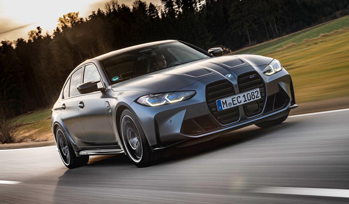 Полноприводные BMW M3 и M4: цены в России