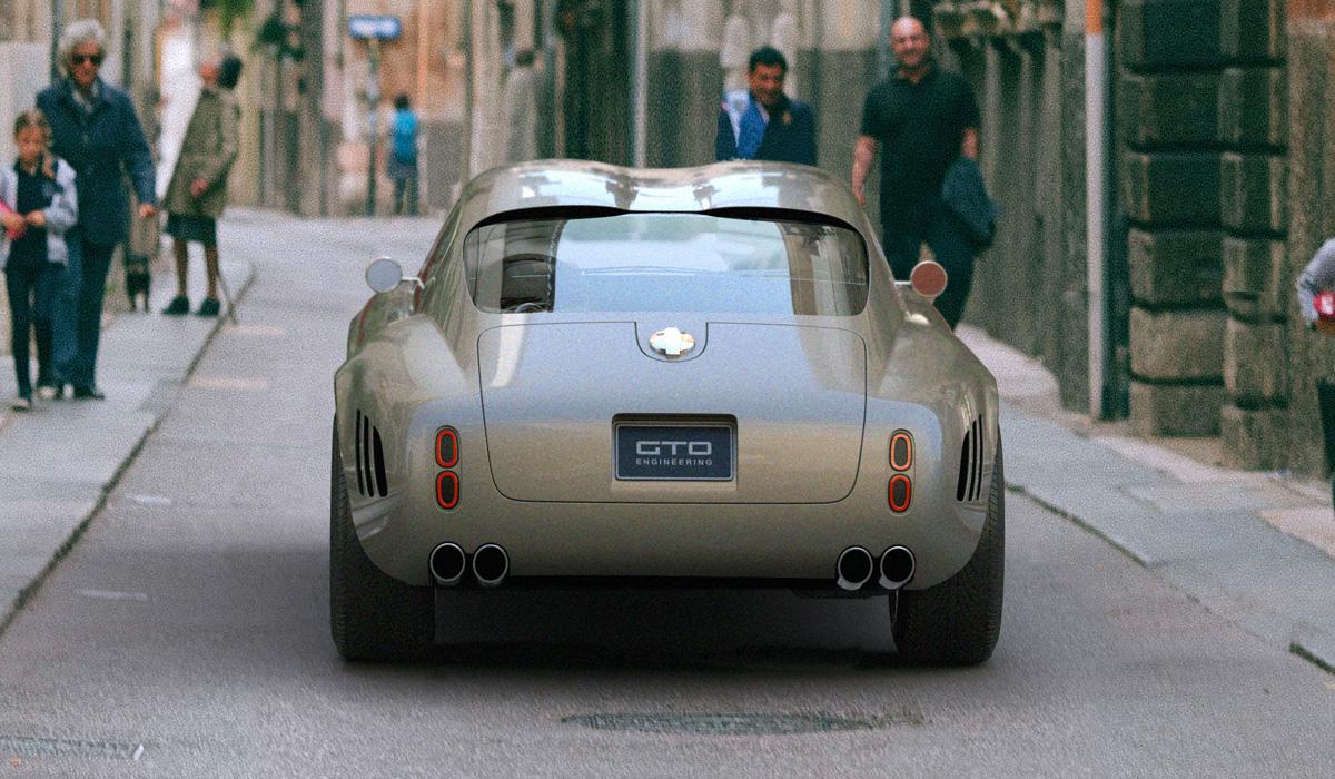 Суперкар Squalo по мотивам Ferrari 250: первые изображения