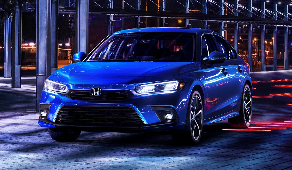 Новая Honda Civic одиннадцатого поколения: первым представлен седан