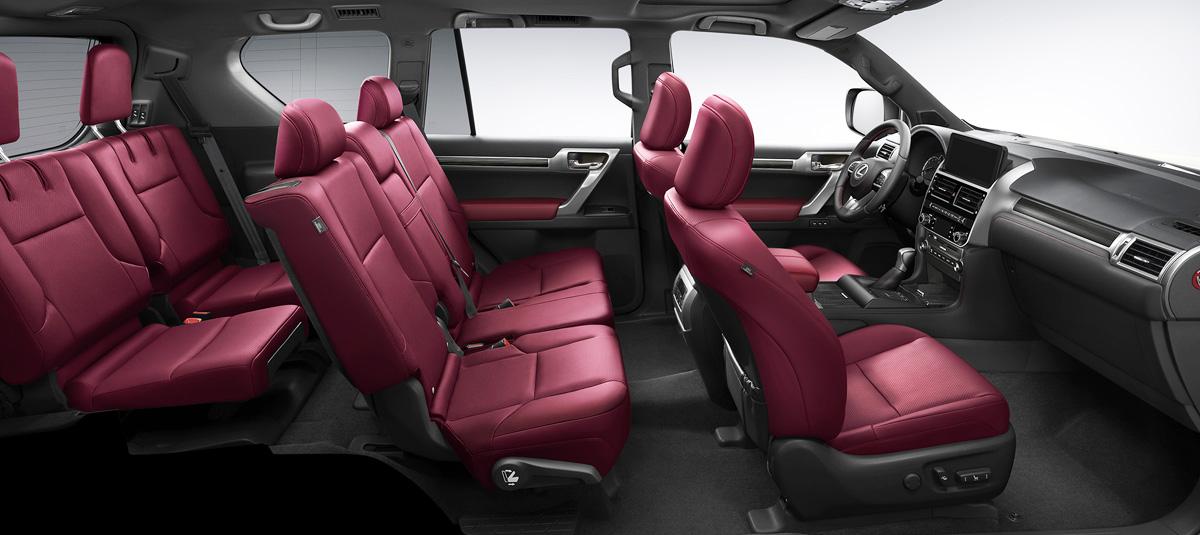 Lexus GX с обновленным салоном: цены в России