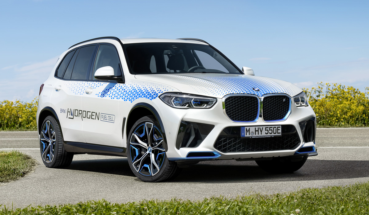 Водородный BMW iX5 Hydrogen: предсерийная версия
