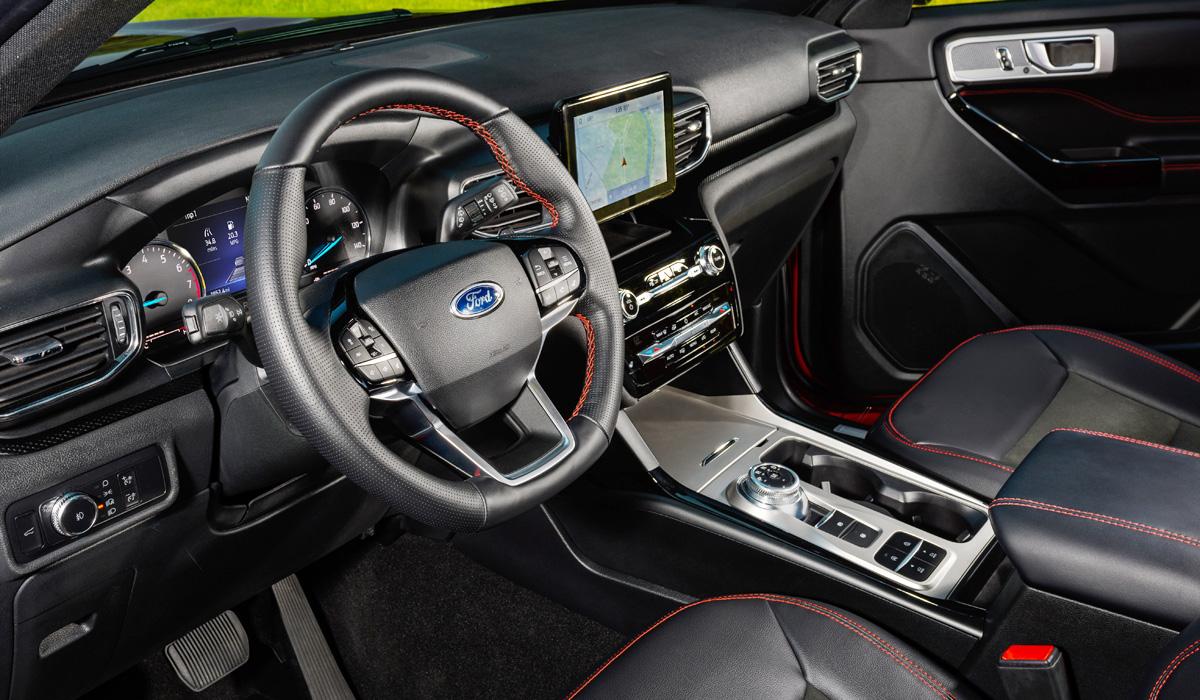 Ford Explorer ST с задним приводом и другие обновки семейства