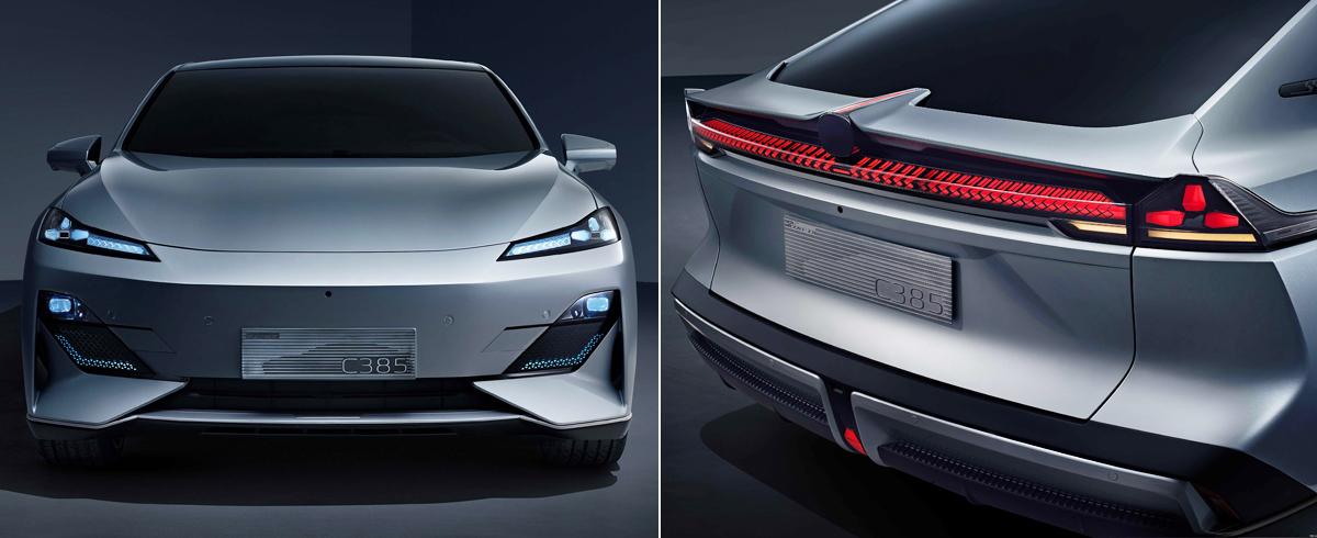Концепт Changan C385 предвестил новый электромобиль