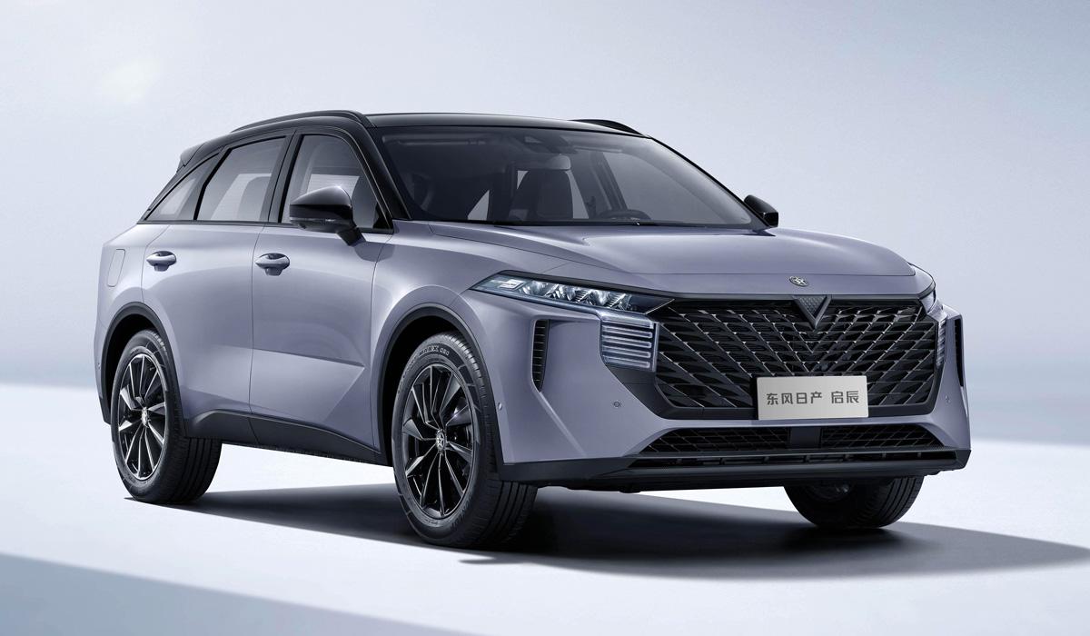 Nissan и Dongfeng показали кроссовер Venucia V-Online