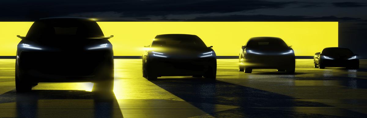 Lotus готовит два кроссовера и четырехдверное купе