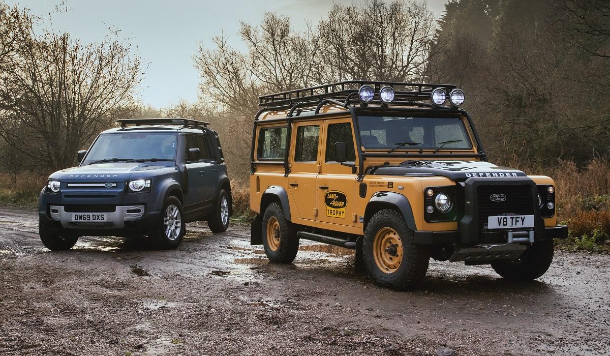 Land Rover Defender Works V8 Trophy: 25 машин для любителей классики