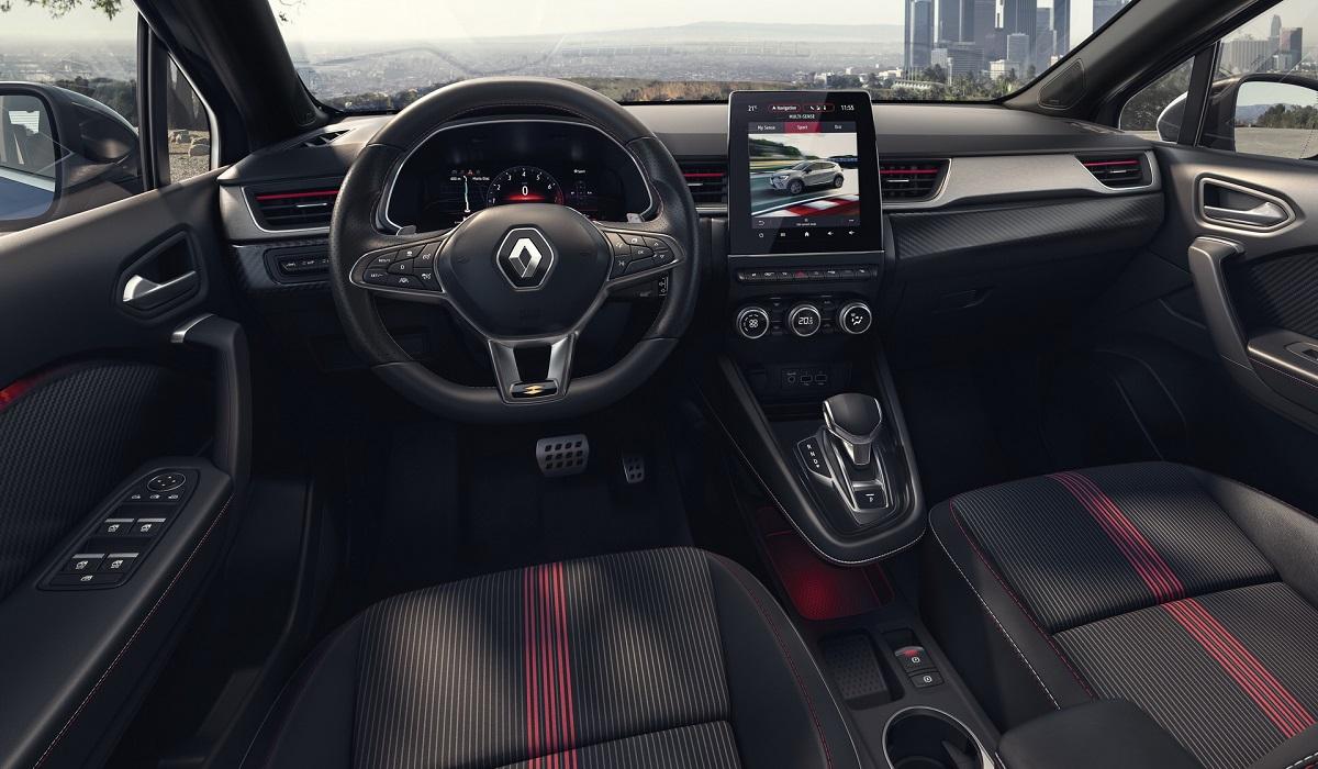 Европейский Renault Captur подготовил новую версию RS Line