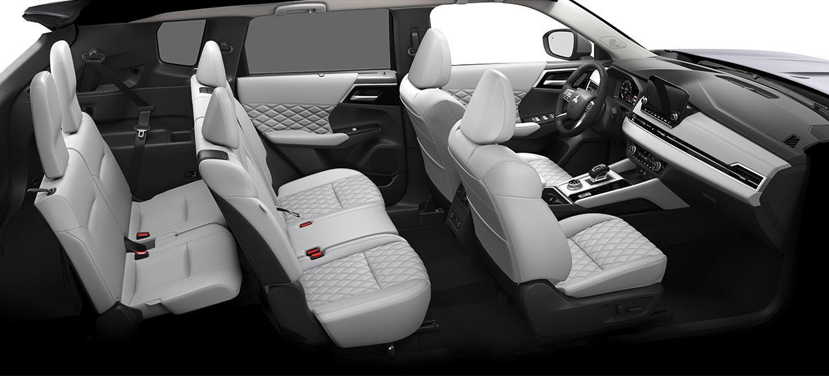 mitsubishi outlander 10 - Представлен кроссовер Mitsubishi Outlander нового поколения