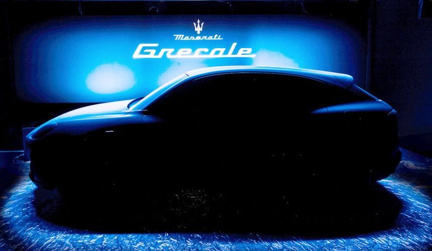 Будущий кроссовер Maserati Grecale и официальный шпионаж