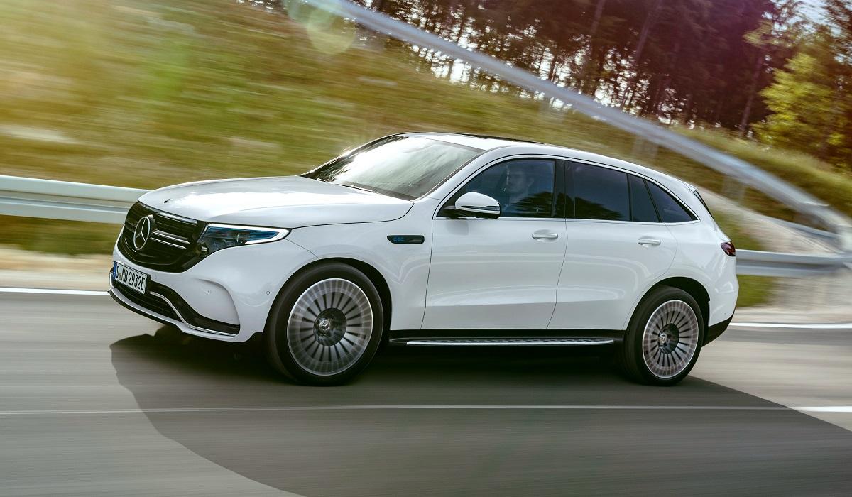 mercedes benz eqc 400 4matic amg line - Mercedes-Benz EQC не появится в США и России