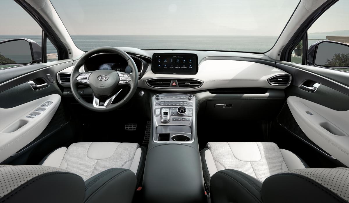 Обновленный кроссовер Hyundai Santa Fe: цены в России