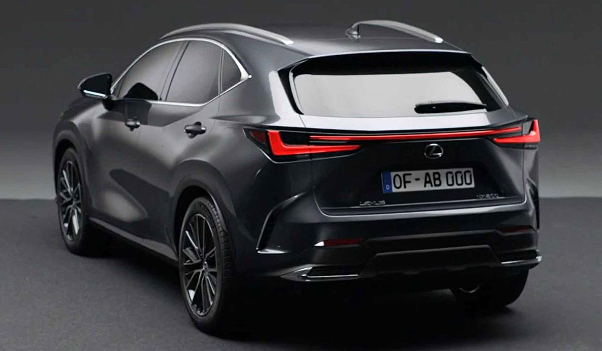 Новый кроссовер Lexus NX: пока неофициально