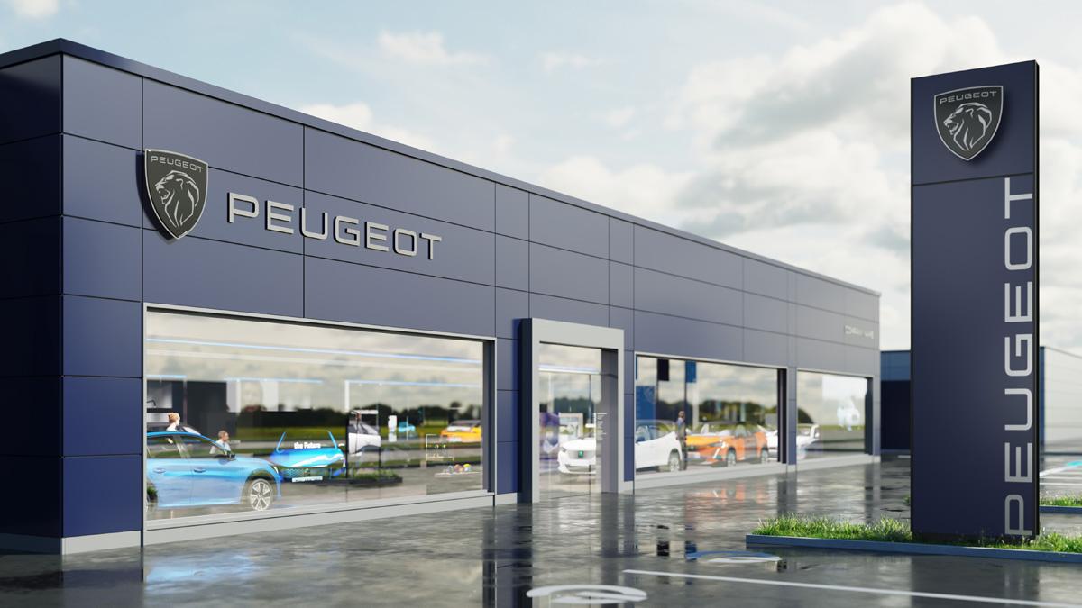 Компания Peugeot представила новый логотип