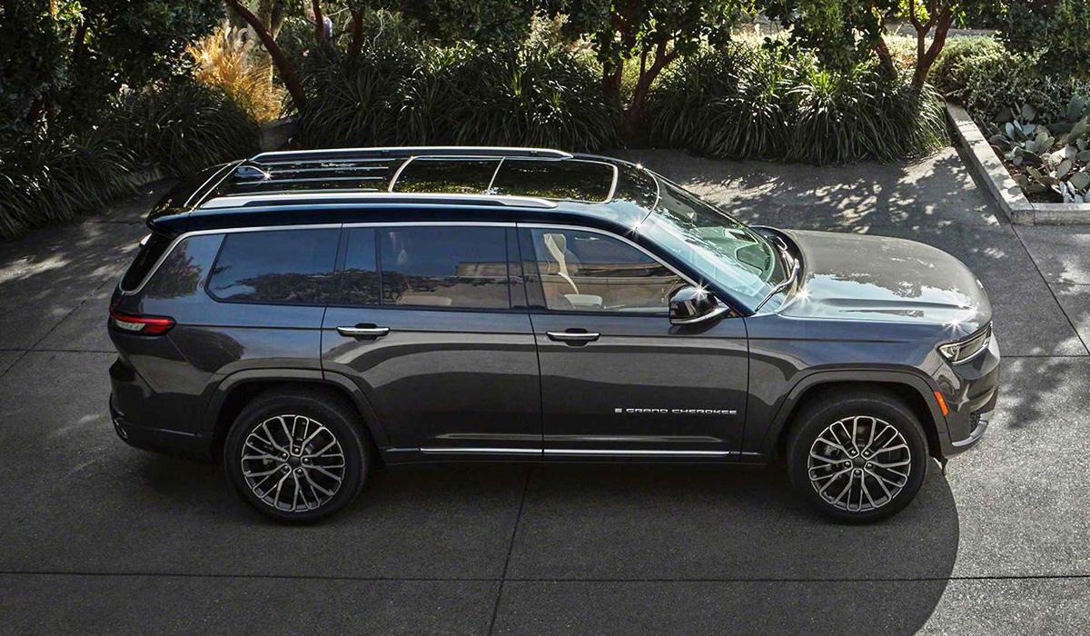 Представлен новый Jeep Grand Cherokee L с тремя рядами сидений