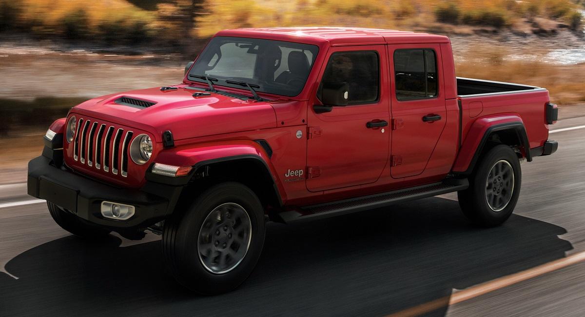 Пикап Jeep Gladiator добрался до Европы