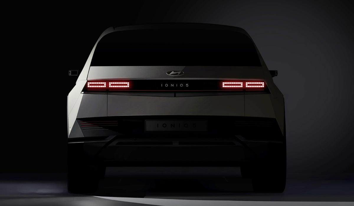 Hyundai готовит к дебюту электромобиль Ioniq 5