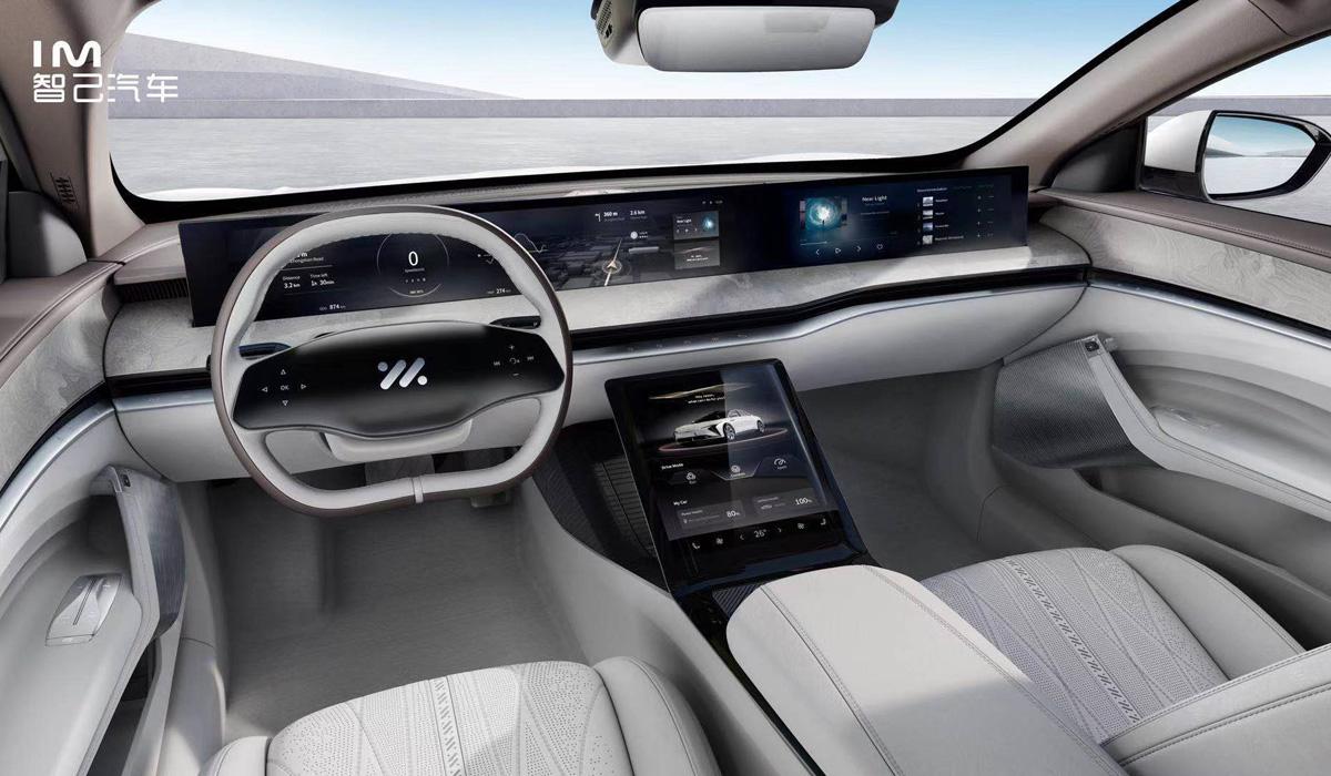 im sedan4 - Концерн SAIC представил электромобили под новой маркой IM