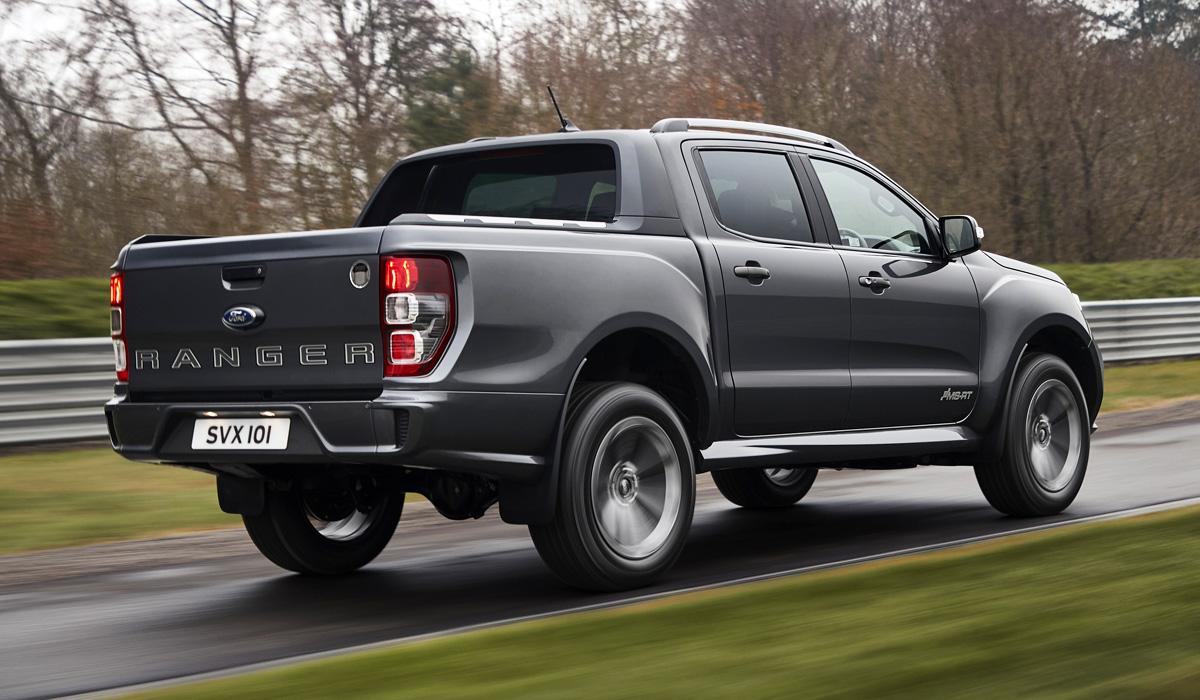 Пикап Ford Ranger MS-RT представлена псевдоспортивная версия