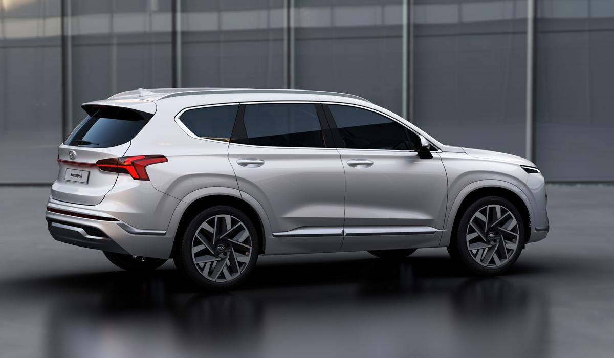 Обновленный Hyundai Santa Fe: версии для России