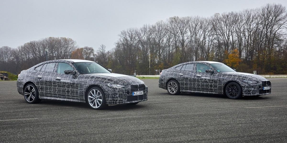 Электрический BMW i4 почти готов к премьере