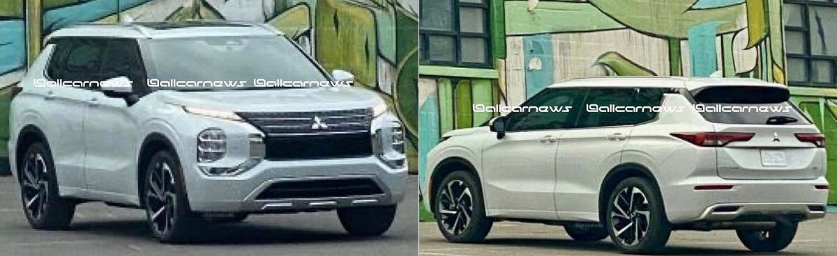 Новый Mitsubishi Outlander обещает блеснуть полным приводом