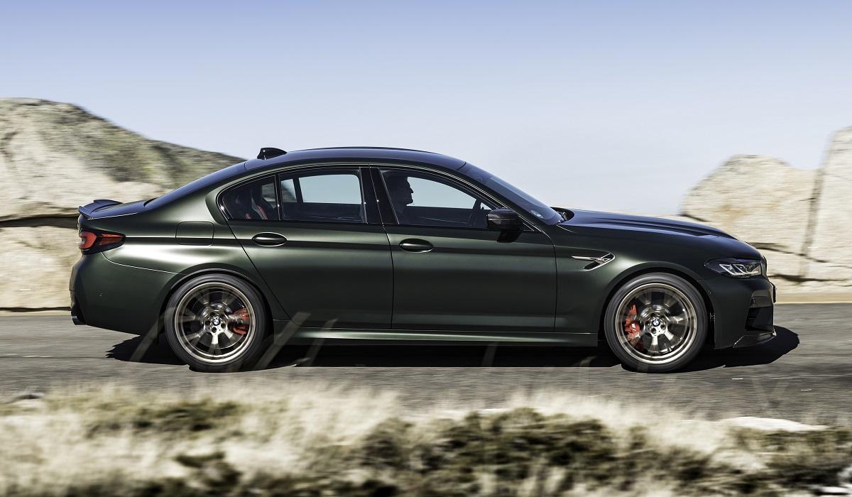 bmw m5 cs 03 - BMW M5 CS: самая мощная M-модель в истории марки
