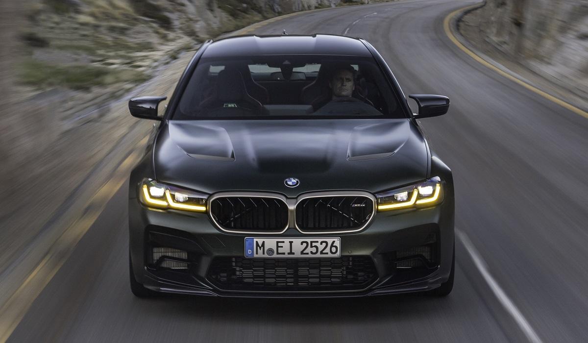 bmw m5 cs 04 - BMW M5 CS: самая мощная M-модель в истории марки