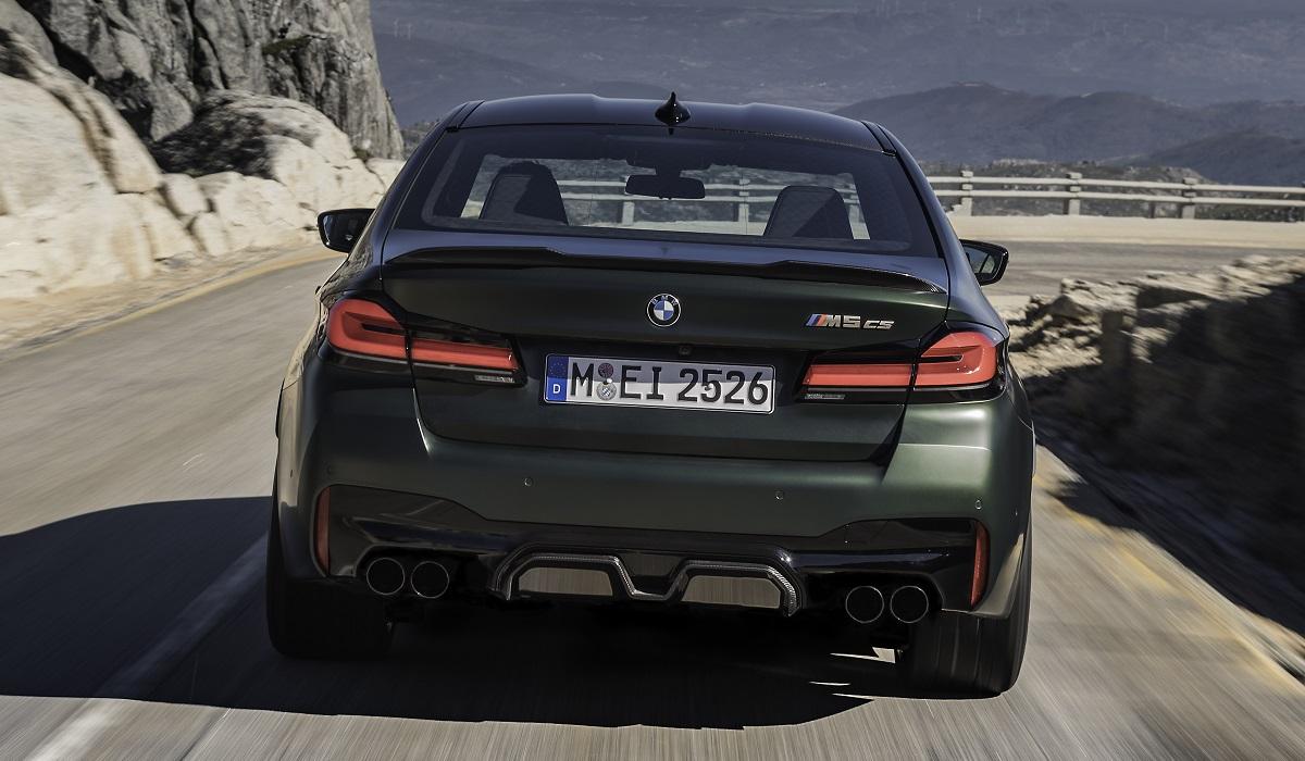bmw m5 cs 05 - BMW M5 CS: самая мощная M-модель в истории марки
