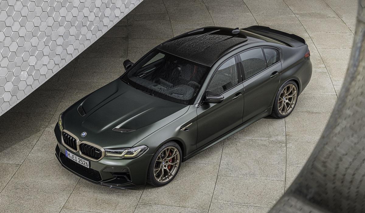 bmw m5 cs 09 - BMW M5 CS: самая мощная M-модель в истории марки