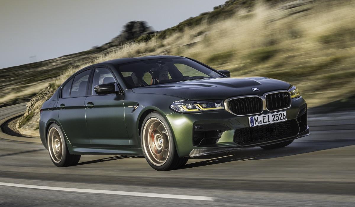 bmw m5 cs 10 - BMW M5 CS: самая мощная M-модель в истории марки
