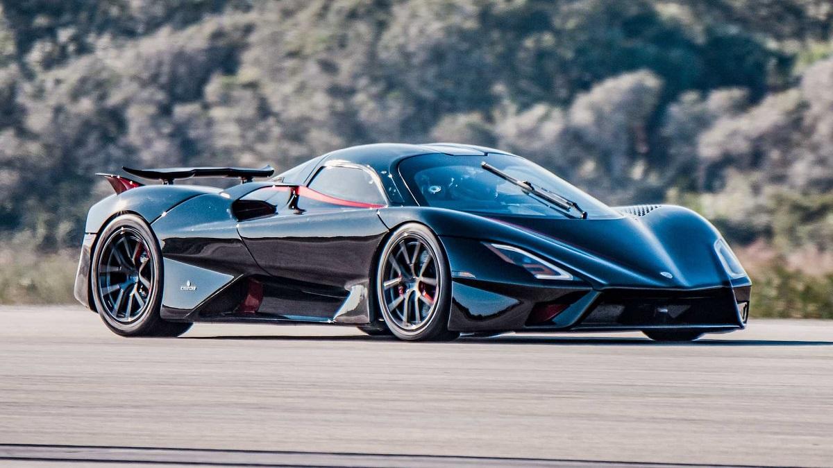 Гиперкар SSC Tuatara отвоевал звание самого быстрого автомобиля в мире