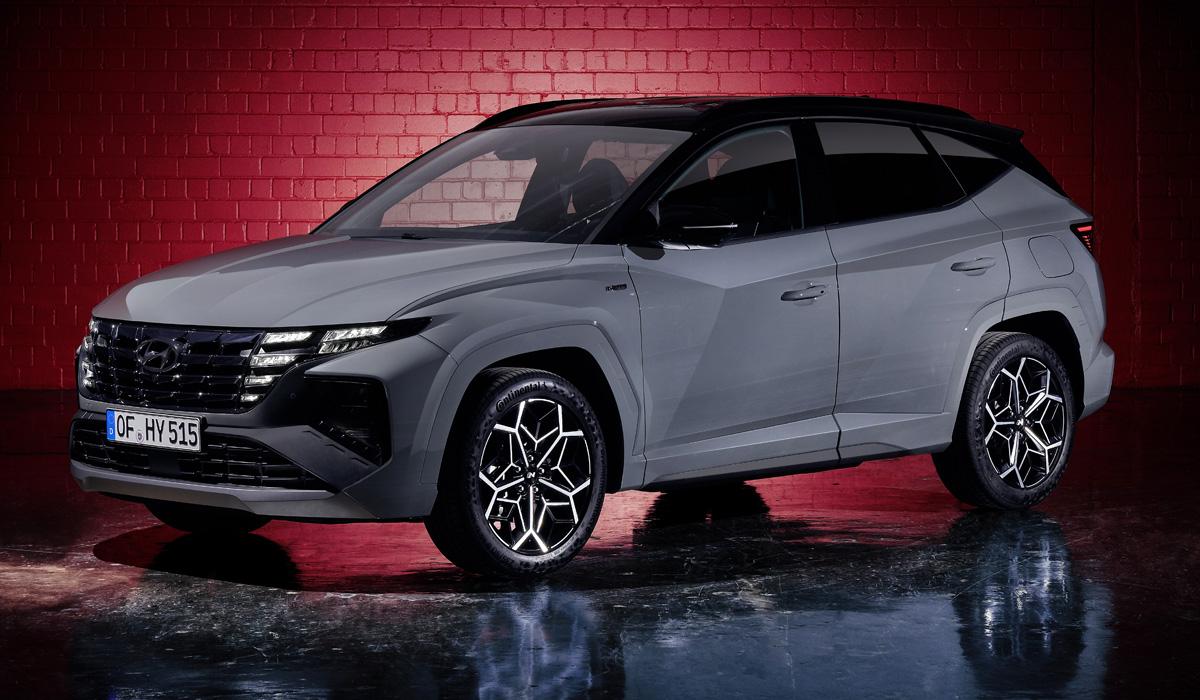 hyundai reveals tucson n line6 - Представлен новый Hyundai Tucson N Line в спортивном стиле
