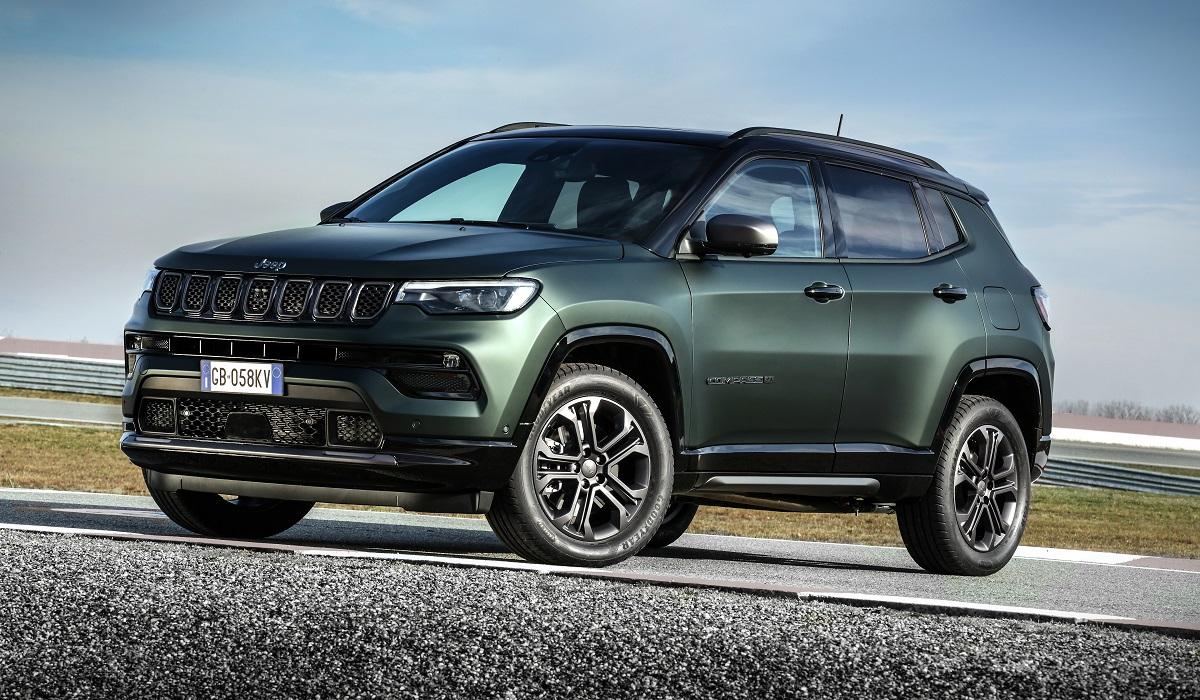 В канун своего юбилея, Jeep представил юбилейные модели для Европы