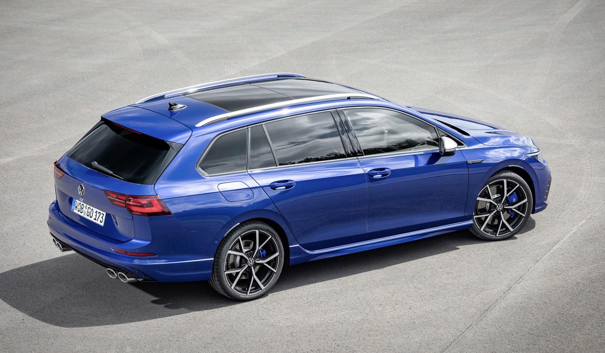 Новый «заряженный» Volkswagen Golf R: теперь и универсал