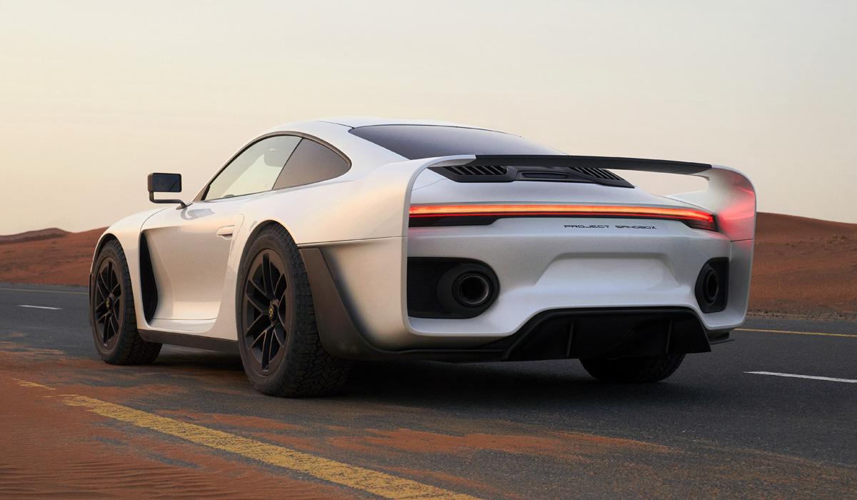 Marc Philipp Gemballa Marsien: внедорожный суперкар из Porsche 911