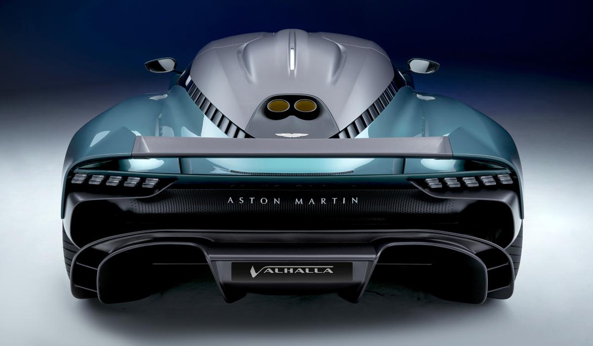 Aston Martin Valhalla полностью переделан: теперь мотор AMG