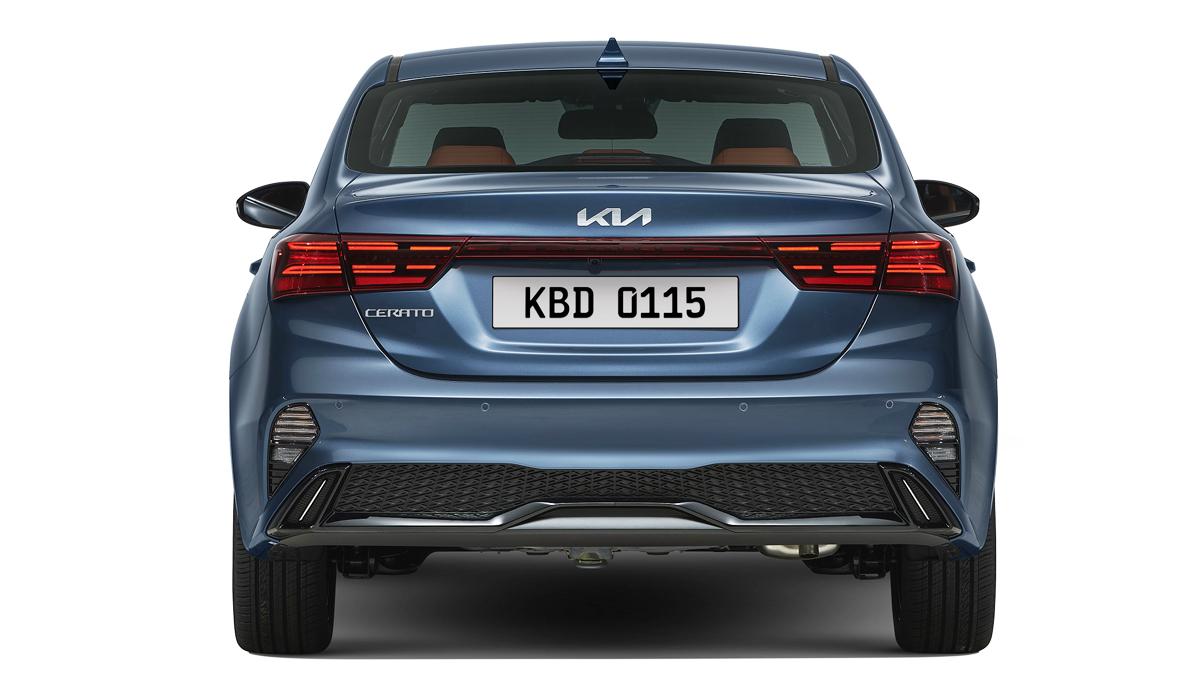 Обновленный седан Kia Cerato сертифицирован в России